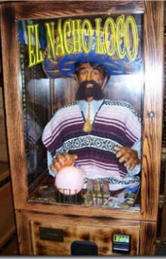 El Nacho Loco Fortune Teller - Fortune Telling Machines Crystal Ball Fortune Teller