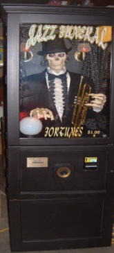 Jass Funeral Fortune Teller - Fortune Telling Machines
