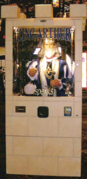 King Arthur Fortune Teller - Fortune Telling Machines