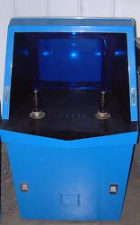 The Galaxy Game Video Arcade Game Cabinet - Bitt Pitts - Hugh Tuck - Stanford University - 1971