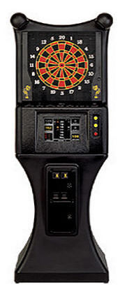 Galaxy II  Dartboard Electronic Dart Machine By Arachnid From BMI Gaming: 1-800-746-2255