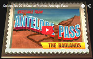 Antelope Pass Golf Course Video - Golden Tee Golf 2016