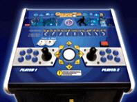 Arcade Legends 3 Pedestal Model Control Panel