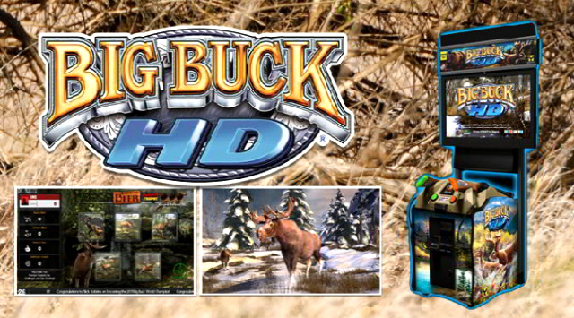 Big Buck Hunter HD 2015 Video Arcade Bar Game Logo