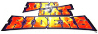Dead Heat Riders Motorcycle Racing Video Arcade Game Logo