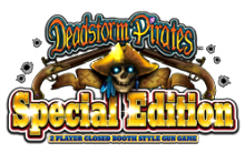 Dead Storm Pirates SDX Special Edition Video Arcade Game Logo