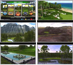 Golden Tee Golf 2016 New Golf Courses - Screenshots