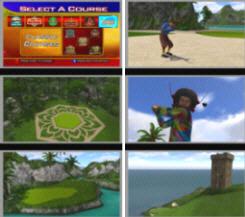 Golden Tee 2015 Course Screenshots
