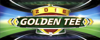 Golden Tee LIVE 2016 Video Arcade Game For Sale Logo