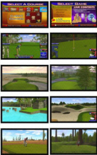 Golden Tee Golf LIVE 2013 Golf Course Screenshots
