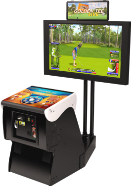 Golden Tee Golf LIVE 2014 Video Arcade Golf Game From ITS