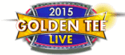 Golden Tee Golf 2015 LIVE Game Logo