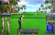 Coconut Beach Golf Course - Golden Tee Live 2014 Course Shot