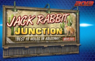 Jack Rabbit Junction - Golden Tee Live 2015 Course Logo