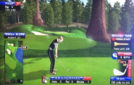 Sequoia Grove Golf Course - Golden Tee Live 2014 Course Shot