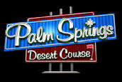 Golden Tee Golf 2007 Palm Springs Desert Course Logo