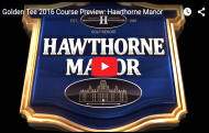 Hawthorne Manor Golf Course Video - Golden Tee Golf 2016