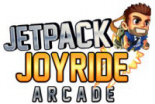Jetpack Joyride Arcade Video Game Logo