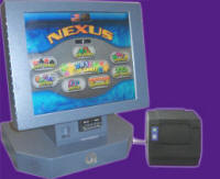 Nexus Countertop Touchscreen Bar Video Game With Ticket / Prize Printer