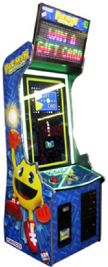 Pac Man Chomp Mania Ticket Redemption / Gift Card Videmption Arcade Game From Namco