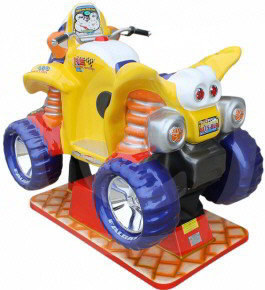 Moto Quad Xtreme Kiddy Ride