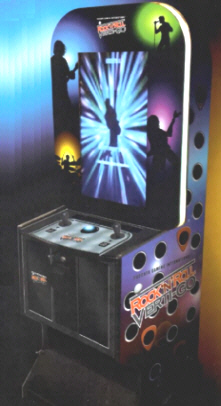Rock N Roll Verti-Go Video Arcade Game