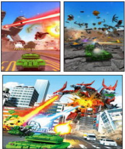 Tank ! Tank ! Tank ! Video Game Screenshots From Namco