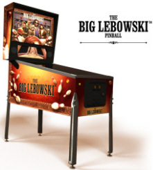 The Big Lebowski Pinball Machine From Dutch Pinball