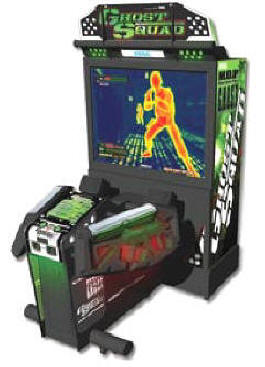 Ghost Squad Evolution Deluxe Model Video Arcade Game From SEGA Arcade Amusements