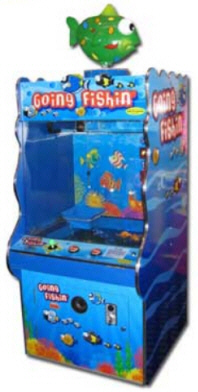 Discontinued redemption arcade games reference page g g for Arcade fishing games