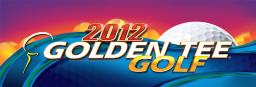 Golden Tee Golf 2012 Video Arcade Game Logo