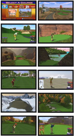 Golden Tee Golf 2012 Video Arcade Game Screenshot