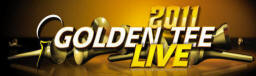 Golden Tee Golf LIVE 2011 Video Golf Sumulator Game Marquee
