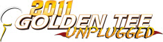 Golden Tee Golf Unplugged 2011 Edition Logo 2
