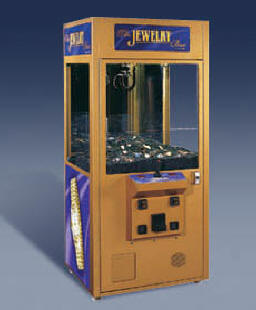 Jewelry Box Crane - Gold - Prize / Claw / Crane Redemption Game From ICE / Innovative Concepts In Entertainment