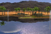 Palm Springs Desert Course Golf Course | Golden Tee Golf 2007
