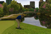 Rustic Bridge On Central Park Golf Course | Golden Tee Golf 2007