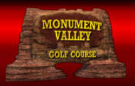 Golden Tee Golf 2010 Unplugged | monument Valley Golf Course Logo