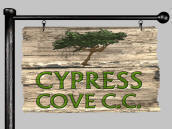 Golden Tee Unplugged 2008 Cypress Cove Country Club Logo