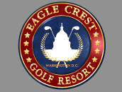 Golden Tee Unplugged 2008 Eagle Crest Golf Resort Golf Course Logo