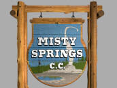 Golden Tee Unplugged 2008 Misty Springs Country Club Logo
