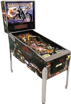 Brand New Harley-Davidson? Special Platinum 2nd Edition Pinball Machine from Stern By BMI Gaming