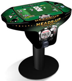 Head's Up Challenge Texas Video Poker Machine - Dollar Bill / DBA Operated Model