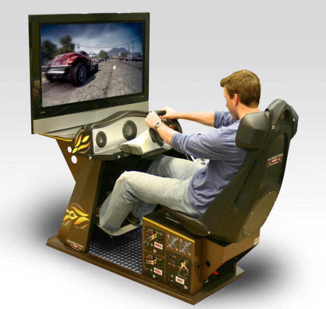 Home Racing Simulator Pro Racing Video Game Machine | HRSPro | HRS Pro | Deluxe Model