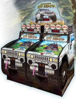 Hummer Off Road'n Ticket Redemption Game From Baytek Games