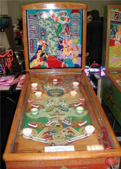 Humpty Dumpty Pinball Machine From D. Gottlieb