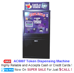 Change Machines / Token Changers / Bill Changers / Ticket Dispensers