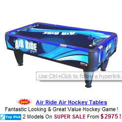 Air Ride Air Hockey Table
