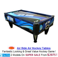 Home Air Hockey Tables / Coin Operated Air Hockey Tables