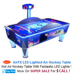 Coin Operated Commercial Air Hockey Tables